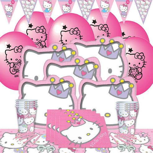 Hello Kitty Princess Party Pack For 8