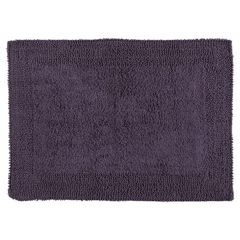 buy tesco reversible bath mat heather from our bath mats. Black Bedroom Furniture Sets. Home Design Ideas