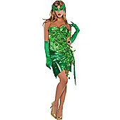 Toxic Ivy - Adult Costume Size: 10-12