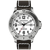 Grayton Comet.Jet Mens Leather Date Watch GR-0014-003.3