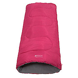 Mountain Warehouse Boys Girls Basecamp Camping Travel Season 2 Sleepover Lightweight Sleeping Bag