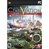 Sid Meiers Civilization V - Game Of The Year Edition - PC