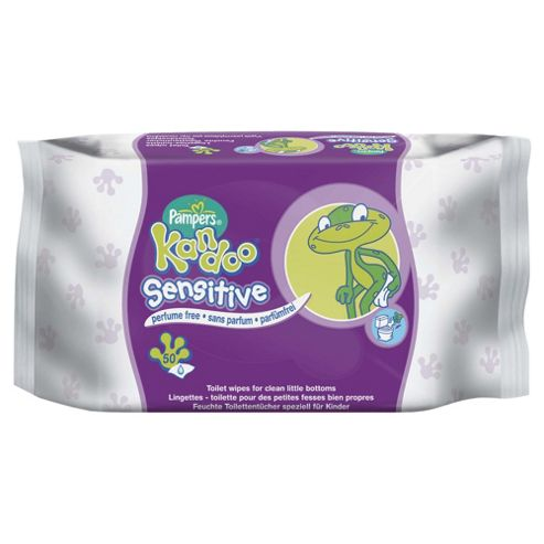 Pampers Kandoo Sensitive Wipes 50Pk