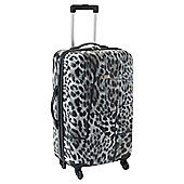 Revelation by Antler Zygo 4-Wheel Hard Shell Suitcase, Clouded Leopard Medium