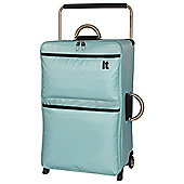 IT Luggage World's Lightest 2-Wheel Suitcase, Turquoise Large