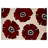 Poppy Rug 120 x 170cm, Red