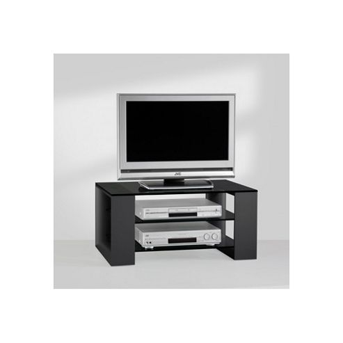 Mor AV Series Glass TV Stand for LCD / Plasmas - Black