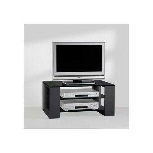 Mor AV Series Glass TV Stand for LCD / Plasmas - Black