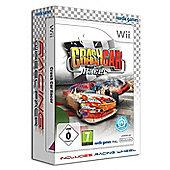 Crash Car Racer and Wheel - NintendoWii