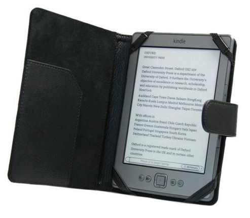 iTALKonline PadWear Black Executive Wallet Case - Amazon Kindle 4