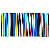 Tesco Blue Stripe Beach Towel