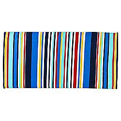 Tesco Blue Stripe Beach Towel