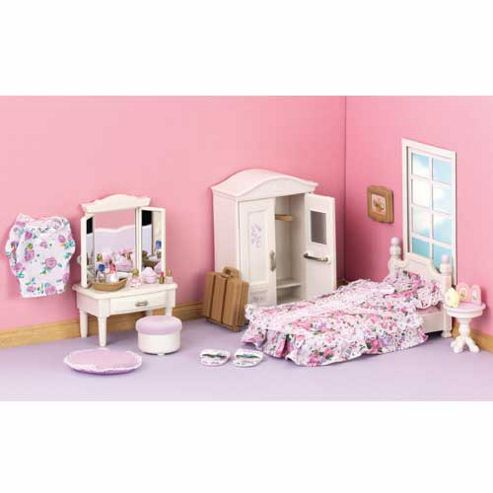 Buy sylvanian families guest bedroom set from our all sylvanian families toys range tesco Tesco home bedroom furniture