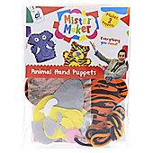 Mister Maker Animal Hand Puppets