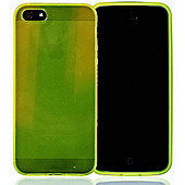 Apple iPhone 5 - gSHELL Tough All-Body Gel Case - Smoke Yellow