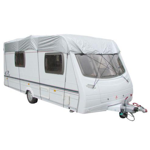 Caravan protective top cover - fits caravans between 5.0M - 5.6M (17'-19') length