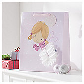 Tesco Fairy Christmas Gift Bag, Large
