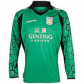 2012-13 Aston Villa Macron Home Goalkeeper Shirt - Green