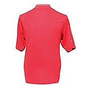 Woodworm Golf Clothes Mock Short Sleeve Red 3Xl