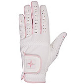 Women's Golf Synthetic Leather Breathable Adjustable Strap Glove - Left