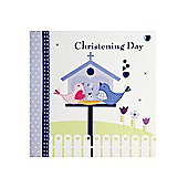 Tweety Christening Day Card - Blue