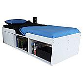Kidsaw Cabin Storage Single Bed Frame