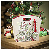 Tesco Foliage Christmas Gift Bag, Medium