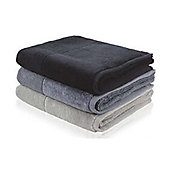 Möve Bamboo Luxe Towel (Set of 2) - 50cm x 100cm - Black