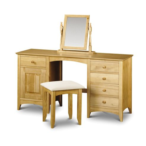 Julian Bowen Kendal Twin Pedestal Dressing Table Set