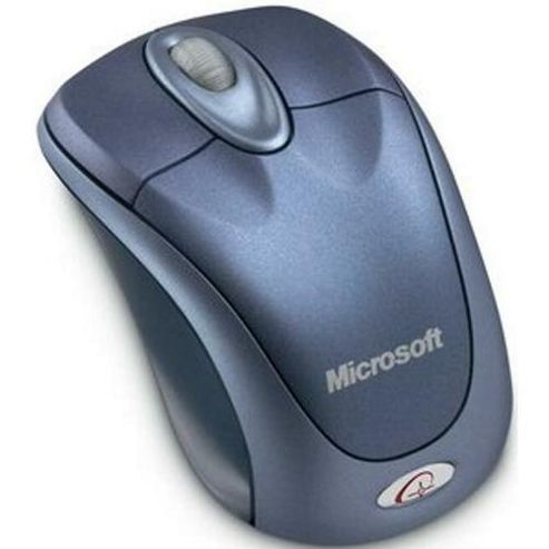 Microsoft Wireless Notebook Optical Mouse 3000 USB Blue