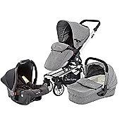 Baby Elegance Beep Twist Travel System - Grey