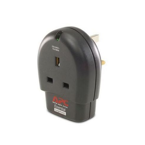APC UK Essential SurgeArrest 1 Outlet with Phone Protection 230V