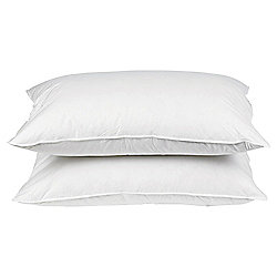 Tesco Soft Touch Anti Allergy Pillow Twinpack - Firm