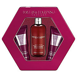 Baylis & Harding Midnight Fig &  Pomegranate 3 Piece Tin