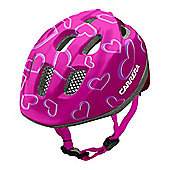 Carrera E0379 Pepe Kids Helmet Pink Hearts Small/Medium 53-56cm