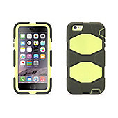 Griffin Survivor All Terrain Case for iPhone6/6 Plus - Dusty Olive/Sunny Lime