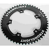 Stronglight 5-Arm/130mm Track Chainring: Black 50T.