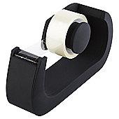 Pure Soft Touch Tape Dispenser Black;