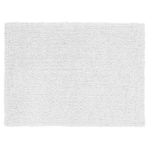 Tesco Standard Reversible Bath Mat White
