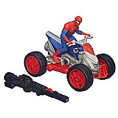 Marvel Ultimate Spider-Man Blast N Go ATV Quad Bike