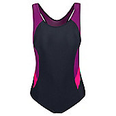 Mountain Warehouse Maya Womens Swimsuit - Purple