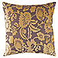 F&F Home Jacquard Floral Cushion Celadon