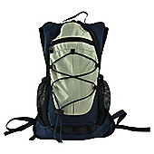 Tesco Hydration Rucksack, Blue 6L
