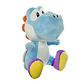 "Official Nintendo Super Mario Plush Series Stuffed Toy - 7"" Yoshi Blue"