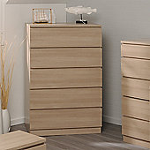 Parisot Home 5 Drawer Chest - Bruges