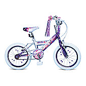"Concept Rock Star Kids' Bike Single-Speed 16"" Purple/White"