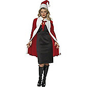 Luxury Santa Cape And Hat