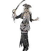Ghost Ship Goulina - Adult Costume Size: 8-10
