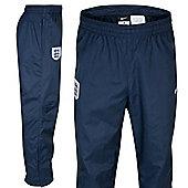 2013-14 England Nike Woven Pants (Navy) - Kids - Navy