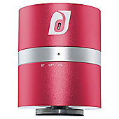 Damson Audio Twist Bluetooth Speaker, Red